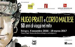 Hugo Pratt e Corto Maltese a Palazzo Pepoli (Bo)