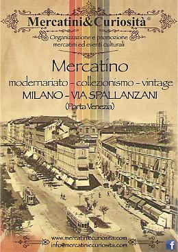 Milano - Mercatino dell'Antiquariato di via Spallanzani