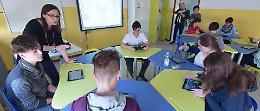 La prima aula 3.0 in una media della provincia