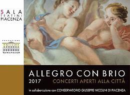 """Piacenza. """"Allegro con brio"""", concerti aperti alla città"""