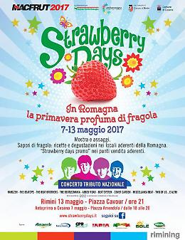 Strawberry Days tra Cesena e Rimini