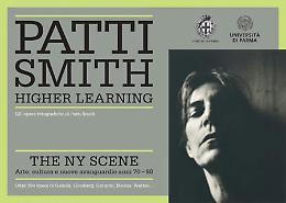 Patty Smith espone i suo scatti alla mostra Higher Learning