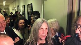 """Parma, laurea in Lettere a Patti Smith: """"Sono felice, era il mio sogno"""""""