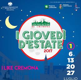 I like Cremona - I Giovedì d'Estate edizione 2017