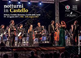 """Milano. I """"Notturni in Castello"""" dal 19 al 25 agosto"""