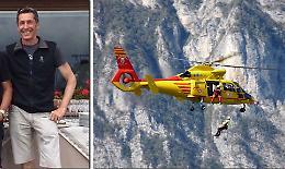 Tragedia in montagna, muore Emanuele Patti