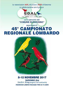 45esimo Campionato Regionale Lombardo di Ornitologia