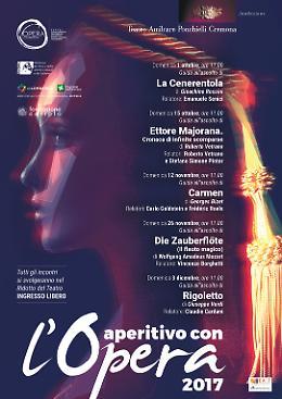 Cremona. La Stagione d'Opera 2017 del Teatro Ponchielli