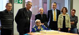 I 102 di monsignor Cavalleri, tutti a  fianco di don Mario