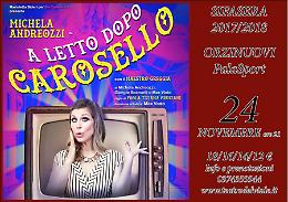 'Prima' della stagione teatrale Sifasera -  'A letto dopo Carosello' con Michela Andreozzi