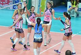 Pazza Pomì vince 3-1 con Novara