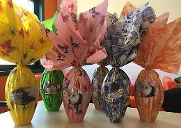 Uova di Pasqua solidali per cani e gatti ammalati