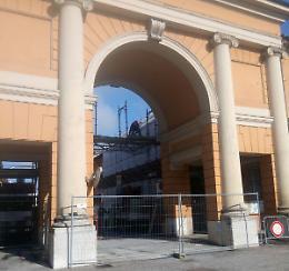 Arco del Voghera. Accesso chiuso, ora i lavori