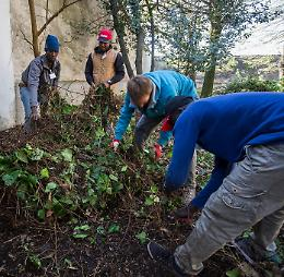 A scuola di giardinaggio e orticoltura: formazione ai migranti della Caritas