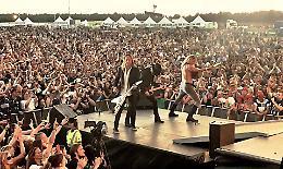 Luppolo in Rock, al festival il metal danese dei D-A-D