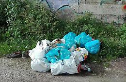 Individuati e multati per l'abbandono di rifiuti