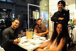 Tre nuovi concorrenti alla tavola dello chef Carra