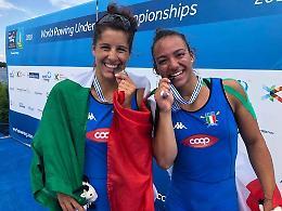 Canottaggio, bronzo mondiale per Alessandra Montesano. Terzo anche Salvatore Giardino in Irlanda