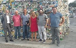 Comune, visita sul tema rifiuti alla Casalasca Servizi SpA