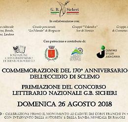 Eccidio di Sclemo, il Comune di Cremona al 170° anniversario