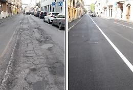 Manutenzione strade e marciapiedi avanti tutta