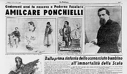 Centoventi anni fa nasceva a Paderno Fasolaro Amilcare Ponchielli