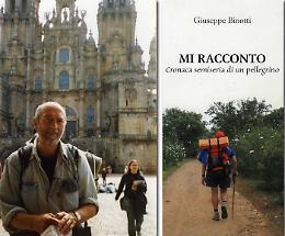 Novemila chilometri a piedi, il traguardo del pellegrino Binotti