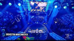 FOTO L'orchestra Magica Musica alla finale di 'Tù sì que vales' su Canale 5