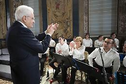 Anche il presidente Mattarella conquistato da Magica Musica