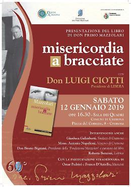 Don Primo Mazzolari, presentazione del libro 'Misericordia a bracciate'