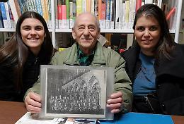 Luigi Zignani, 87enne sax della banda di Pizzighettone