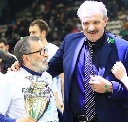 Vanoli e coach Sacchetti avanti fino al 2022