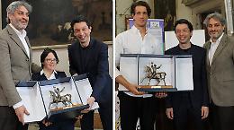 L'Atleta Cremonese nel Mondo, premiati Maria Bresciani e Giacomo Gentili