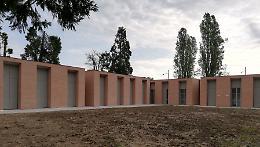Cimitero, completata la costruzione delle 32 nuove cappellette nel Campo 1