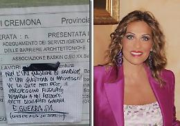 Biglietti contro i disabili, la grafologa Livatino: 'Opera di un egoista che cerca notorietà'