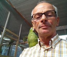 Baroni campione del mondo con i suoi pappagalli