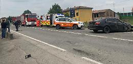 Due incidenti sulla Caorsana, quattro feriti e rallentamenti