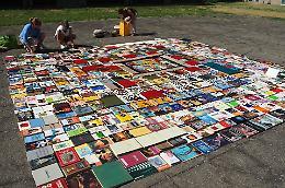 Anteprima Paf, al Cambonino un tappeto di libri