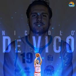 Alla Vanoli arriva il giocatore Niccolò De Vico