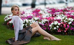 Le bellissime immagini della 21enne Cristina Fiorello