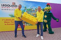Gardaland: primo mattone Legoland Water Park, investiti 20 milioni