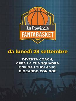 Fantabasket: cento fantamilioni, roster da 10 più coach, formazioni al venerdì