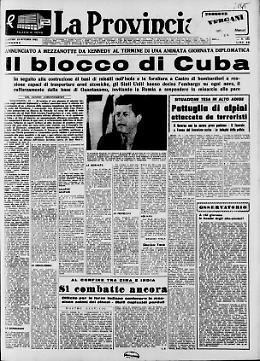 Il blocco di Cuba