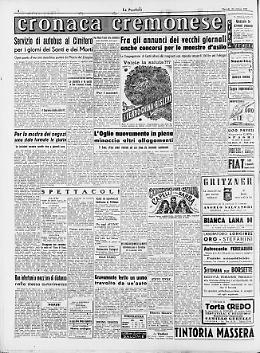Fra gli annunci dei vecchi giornali