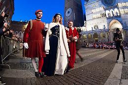 Festa del Torrone 2019, Francesco e Bianca Maria di nuovo sposi