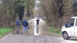 Castelvetro, a Ponticello l'acqua del Po avanza