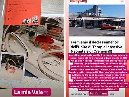 Terapia intensiva neonatale, quasi 5 mila firme per la petizione online: c'è anche la mamma di Chiara Ferragni