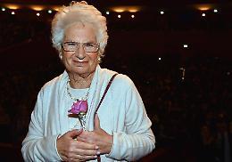 Liliana Segre, gli auguri di compleanno del presidente Fontana