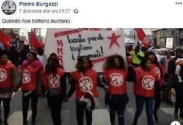 Pasquetti a Burgazzi: «Dichiarazione sessista o razzista?»