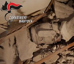 I Guastatori di Cremona fanno brillare tre bombe a mano